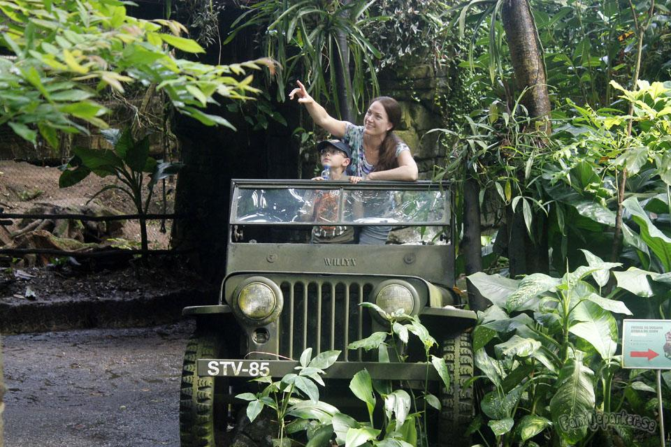 Ett besök i Randers regnskov