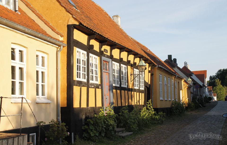 Idylliska småstaden Ebeltoft
