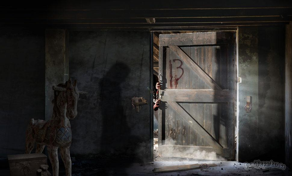 Halloween på Liseberg: Barn inlåsta på vind