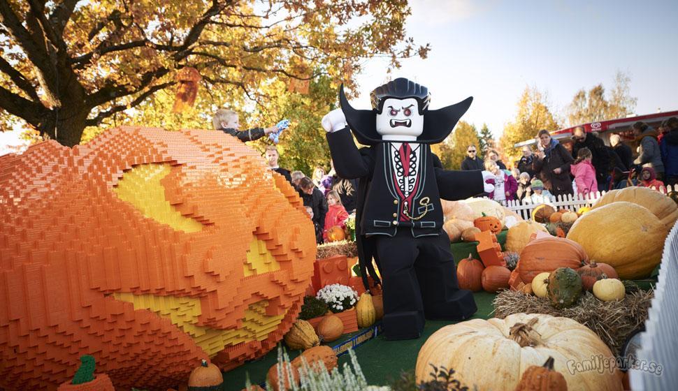 Legoland satsar på Halloween-firande med fyrverkeri