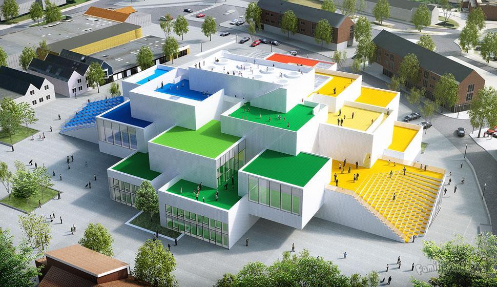 Färgkodad upplevelse för alla LEGO-fans