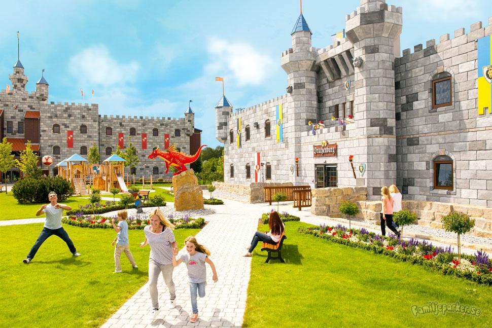 Legoland bygger gigantiskt slottshotell