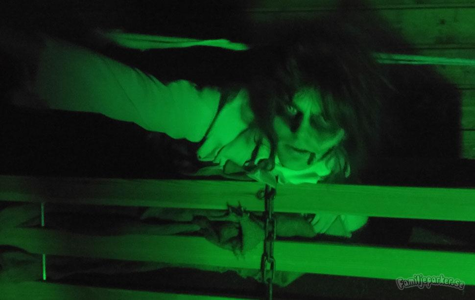 Se filmen från Kolmårdens nya spökhus, Brådstupets Wärdshus!