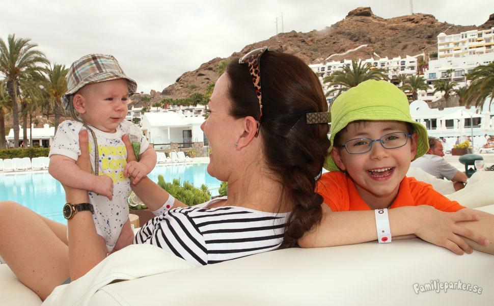Bloggserie om tre familjehotell på Gran Canaria