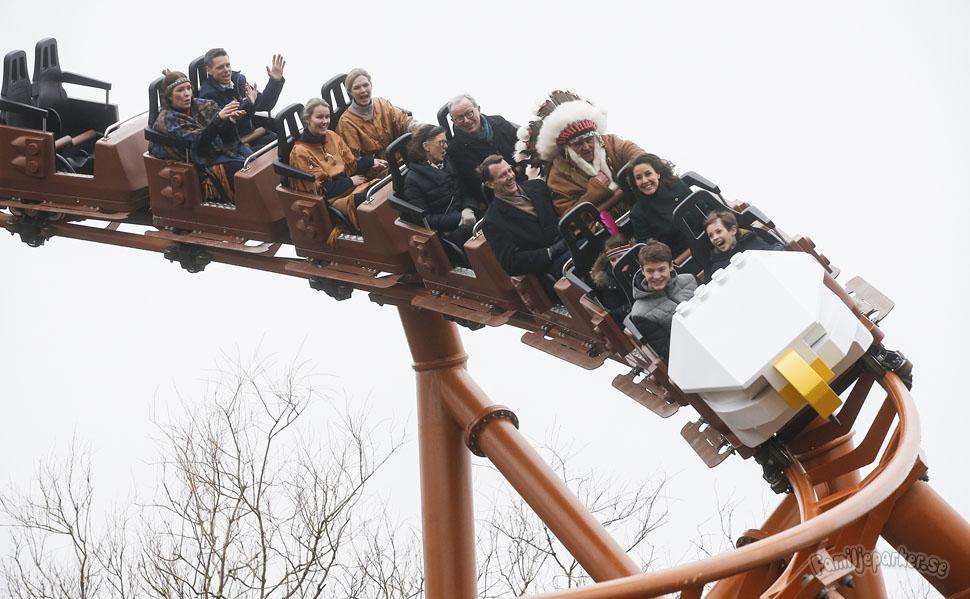 Kunglig glans när Legoland öppnade för 50:e säsongen