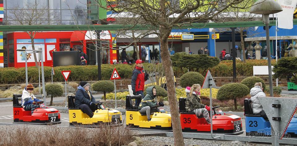 Seat Trafikskola på Legoland
