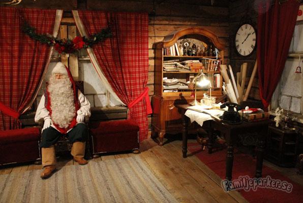 Film om när vi besökte jultomten!
