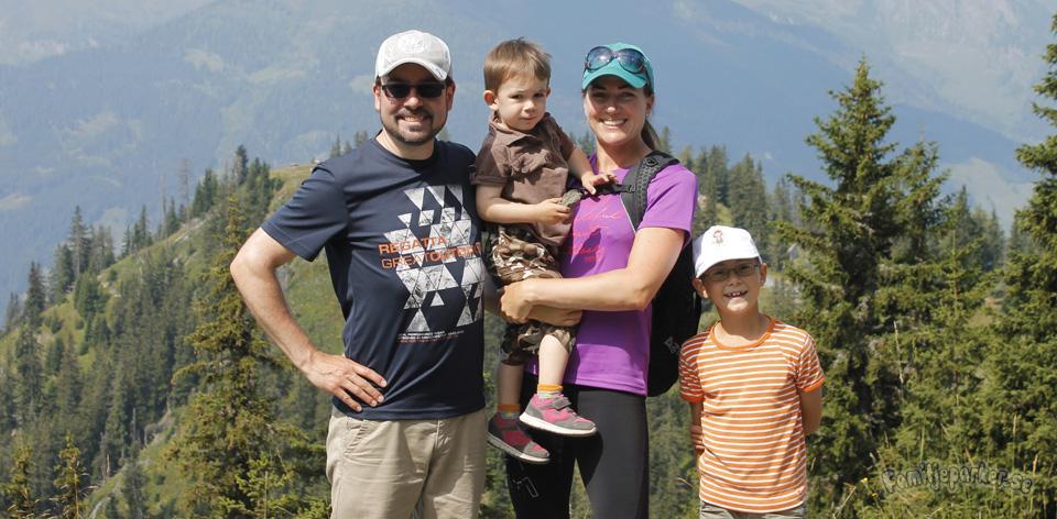 Vår aktiva familjevecka i Bad Gastein