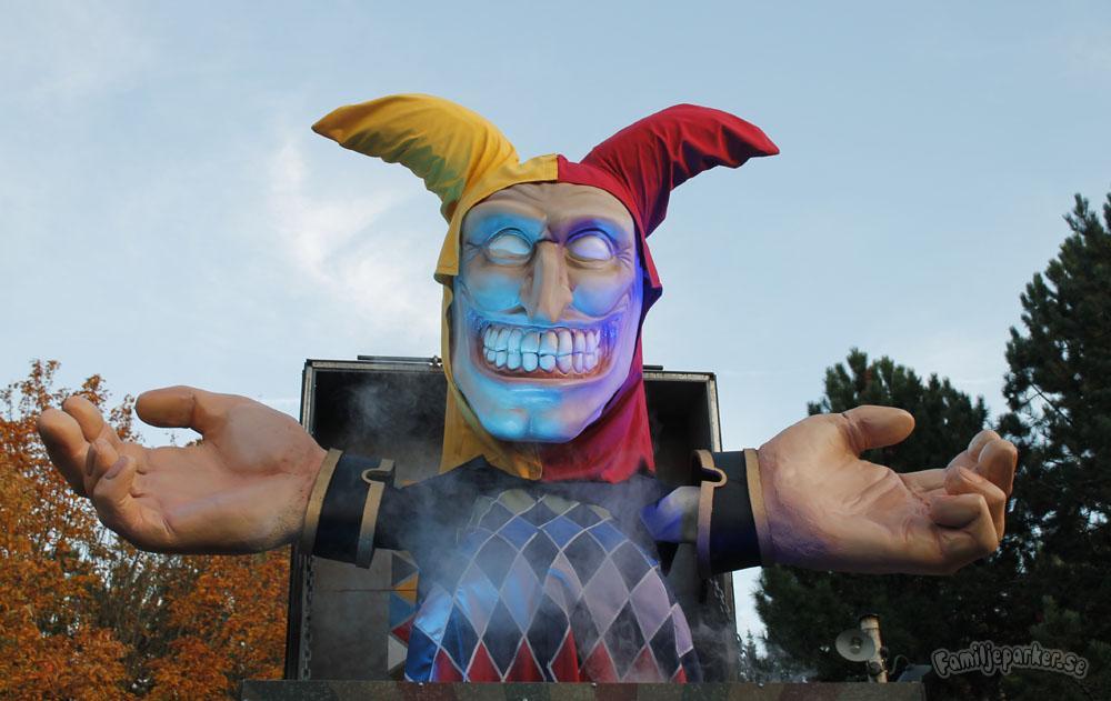 Halloween på Liseberg: cirkusartister, zombies & kaniner