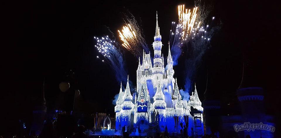Bäst fyrverkeri hittar man hos Disney
