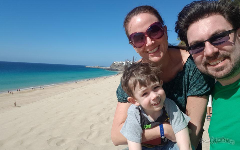Familjekul på Fuerteventura