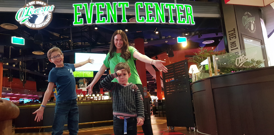 O'Learys Restaurang, Game Zone & Event Center