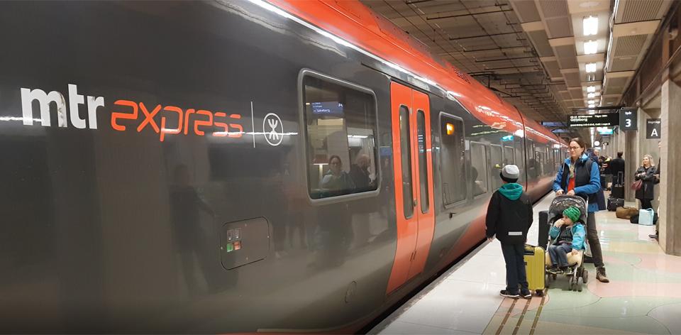 Tågtest: med MTR Express till Göteborg!