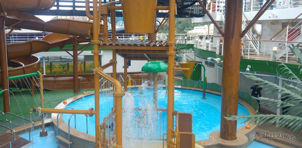 MSC Cruises satsar på vattenparker till havs