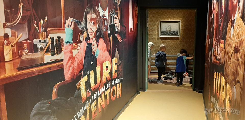Ture Sventon-utställning på Junibacken
