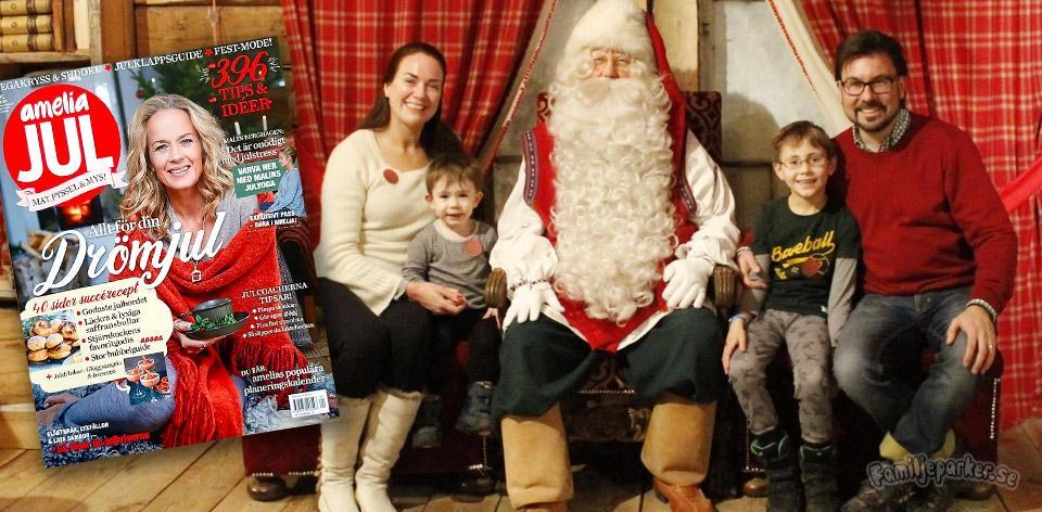 Vår story i Amelia Jul: vi bytte julhets mot julmys till havs