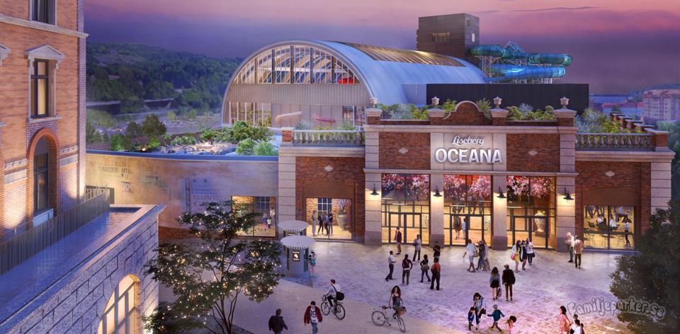 """Nu börjar bygget av Lisebergs vattenpark """"Oceana"""""""