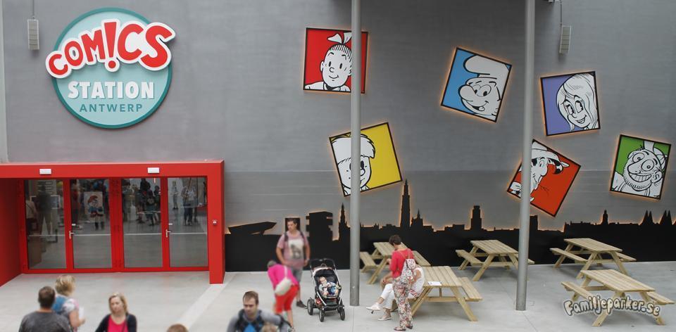 Comics Station Antwerp (snart Plopsa Station Antwerp)