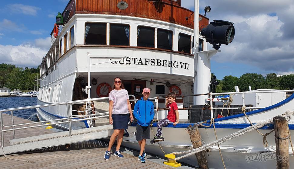 Familjetur till Gustavsberg med Strömma