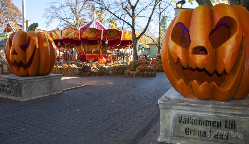 Halloween på Gröna Lund, i år med mer skräck